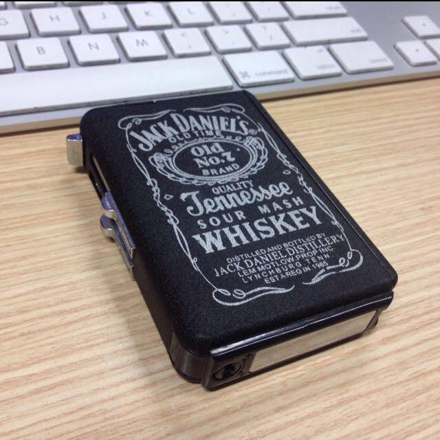 Cigarette Case Jack Daniels