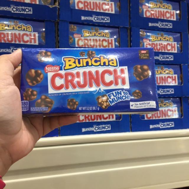 Crunch chocolate