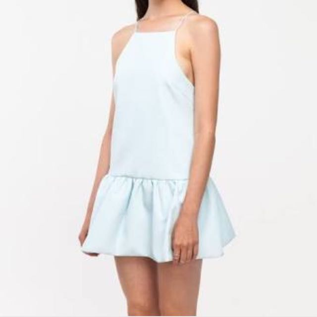 Finders Keepers Ice Blue Dress