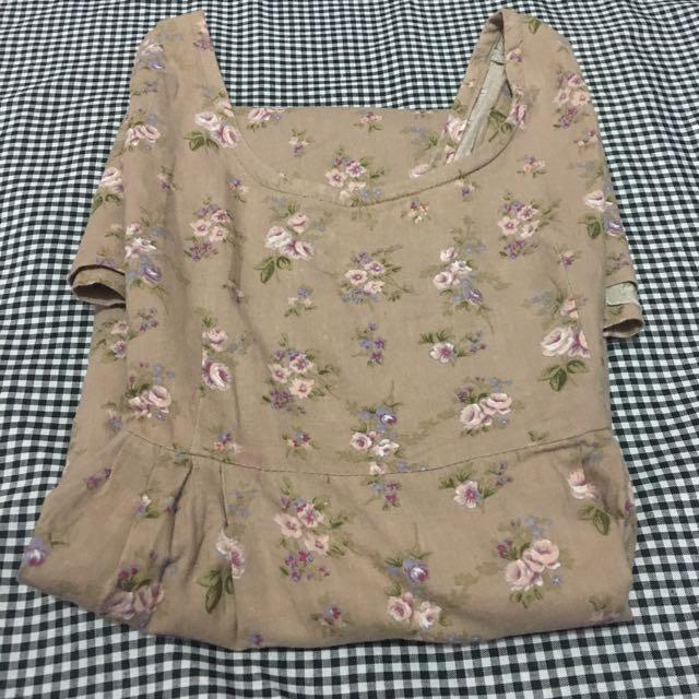 Flower Tank Dress