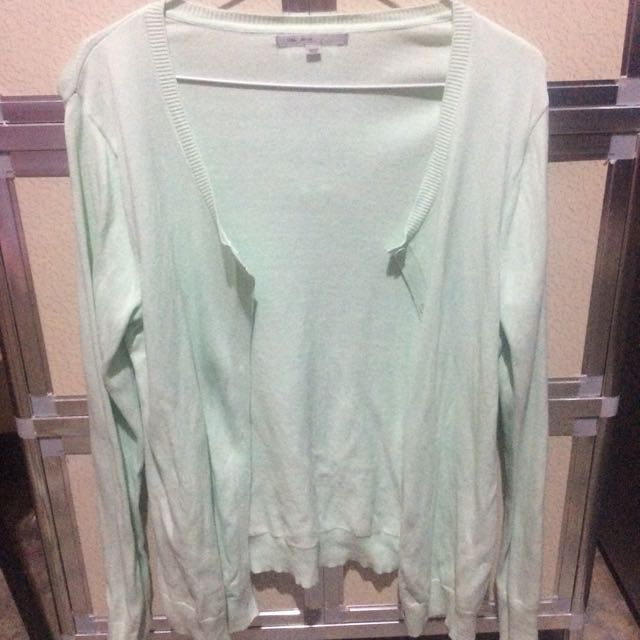 GAP Mint Cardigan