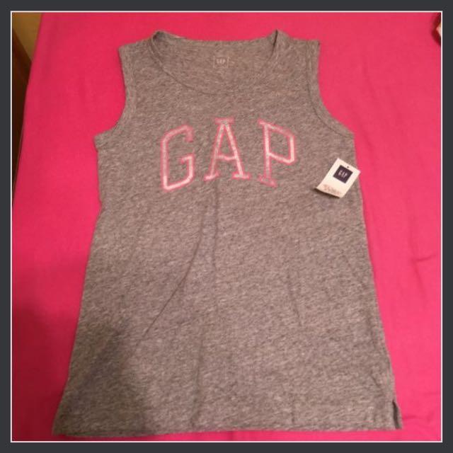 二手Gap 灰粉XXS號 背心上衣