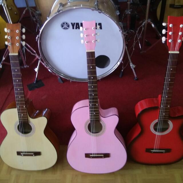 Gitar Akustik Musik Media Alat Di Carousell