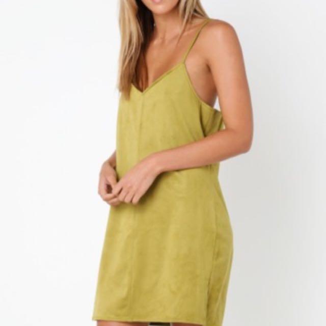 Green Cami Dress