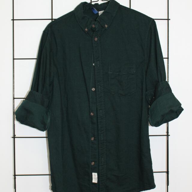 Green Flanelette Shirt