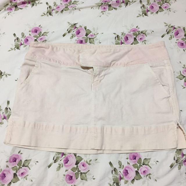 Guess Pink Denim Skirt 29
