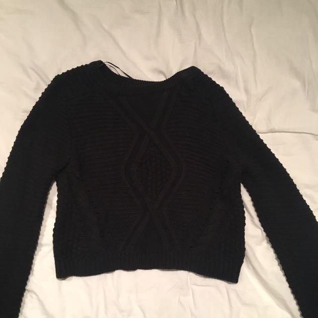 H&M Black Knit