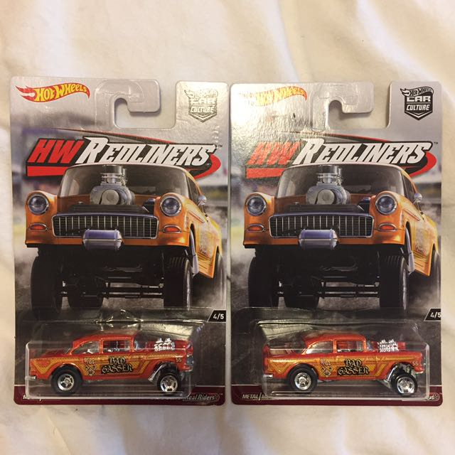 Hot Wheels Car Culture Redliners Chevy Gasser