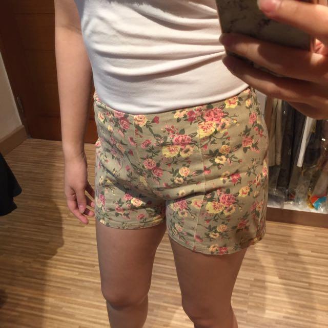 Hotpants Flowery