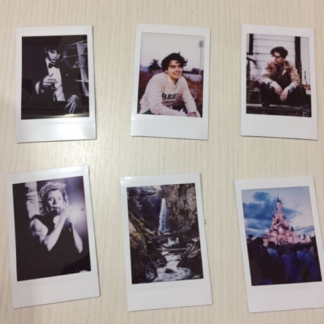 Indie Tumblr Polaroids, Design & Craft, Others on Carousell