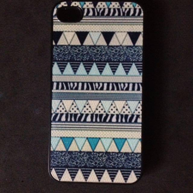 Iphone 4s case (Aztec Pattern)