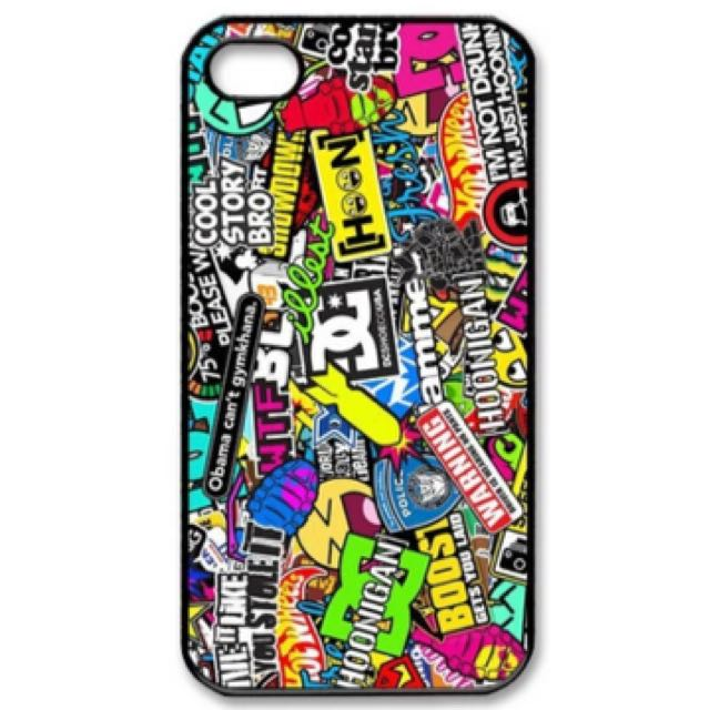 iPhone Dc Graffiti Case