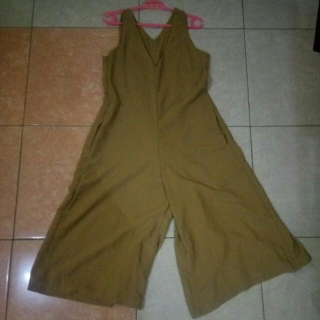 Jumpsuit V Neck