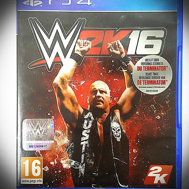 Kaset Original Ps 4 WWE 2k16