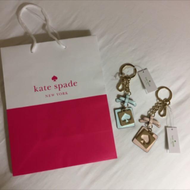 全新/Kate Spade 鑰匙圈