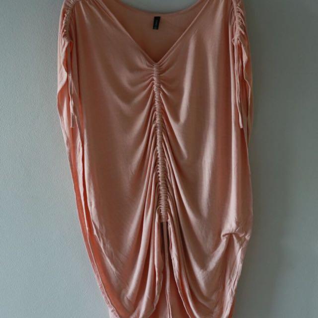 KIRRILY JOHNSTON Women's Designer Drawstring T Shirt Dress
