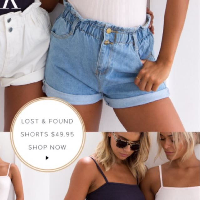 lost and found shorts