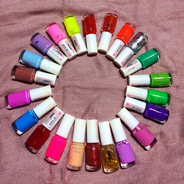 mini nail polish all 49k