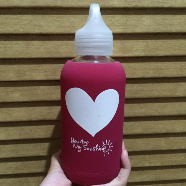 Miniso Love Water Bottle