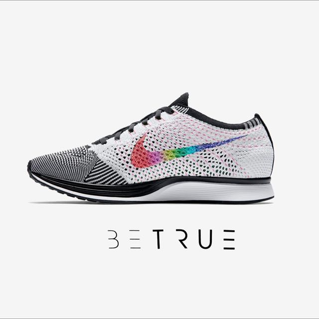 591d91c3b8ba Nike Flyknit Racer Be True