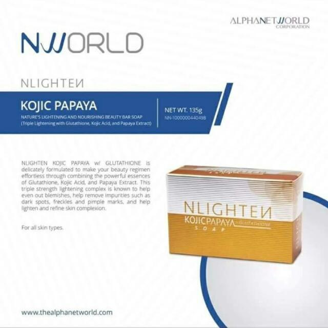 Nlighten Kojic Papaya