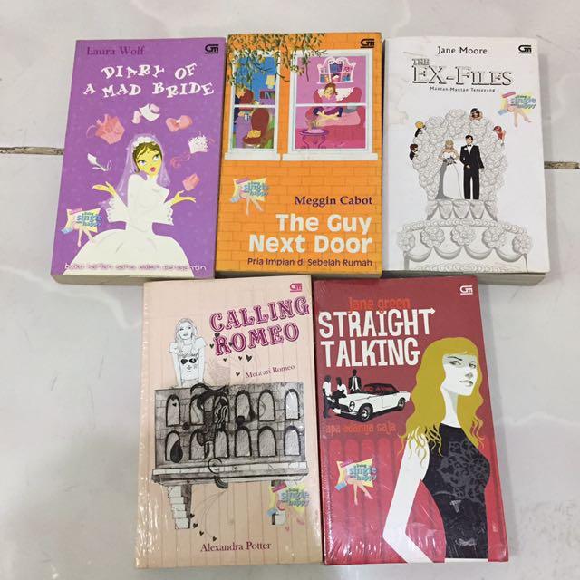 Novel (5 books)