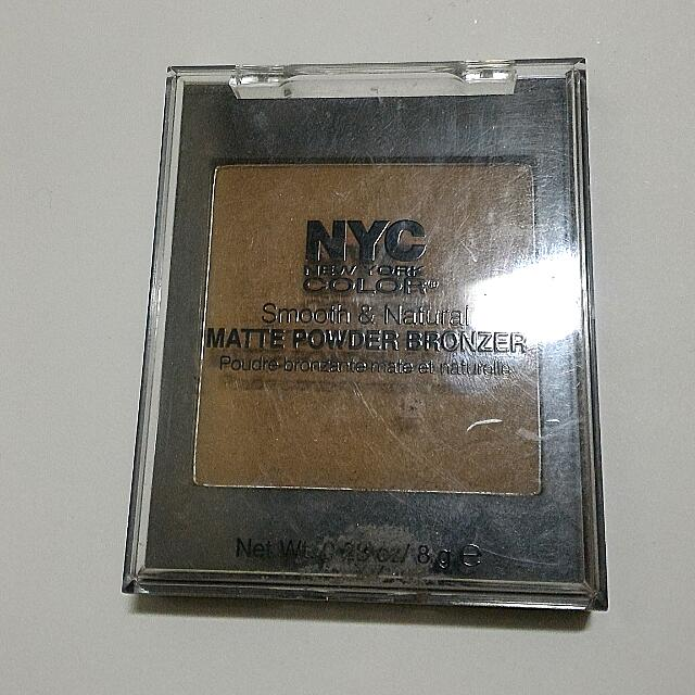 NYC bronzer contour powder