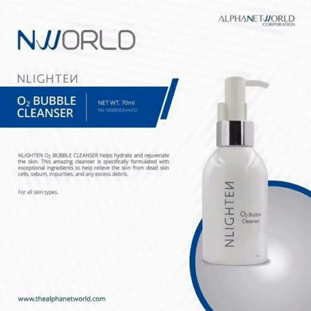 O2 Bubble Cleanser