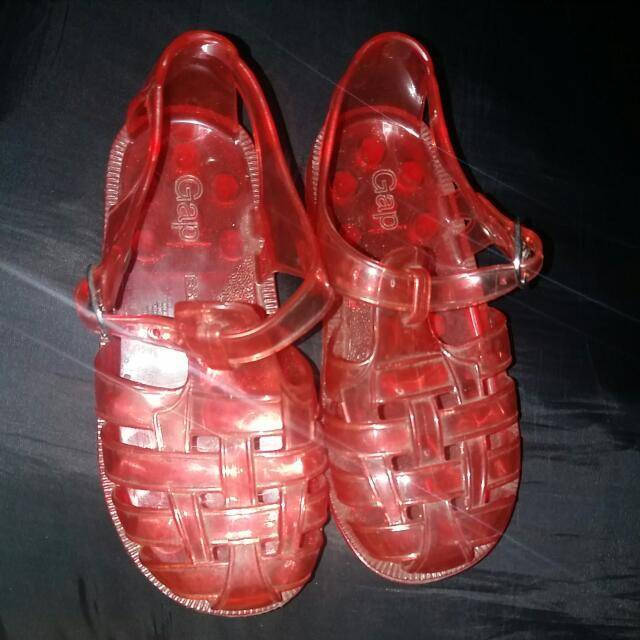 original GAP jelly sandals