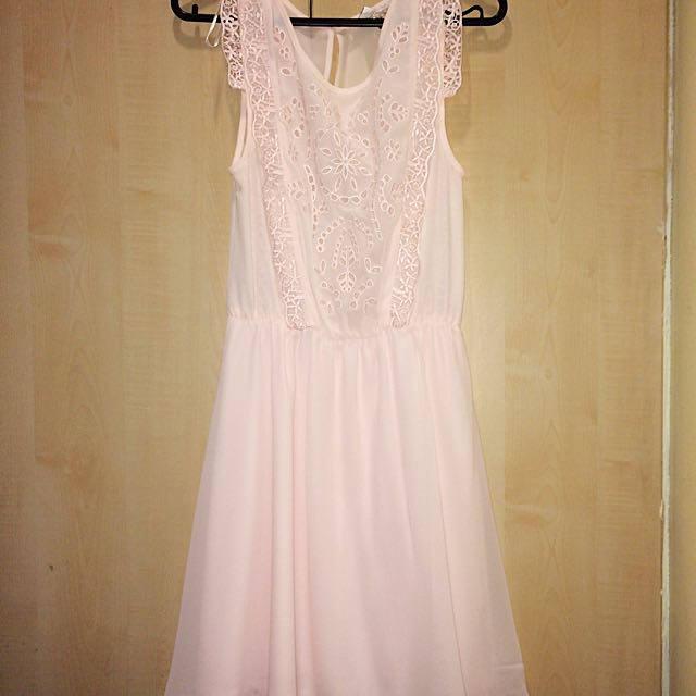 Pastel Pink Dress From H&M