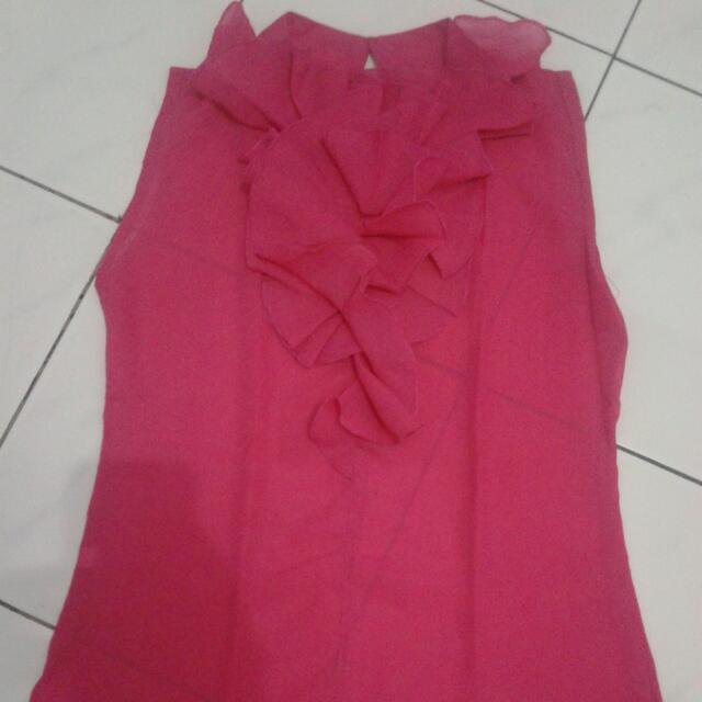 pink thank top