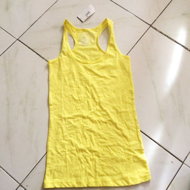 PLANET GOLA yellow tank top