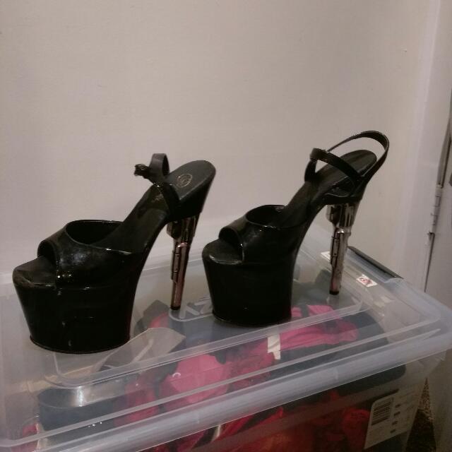 Pleaser Size 10 Heels 7 Inch