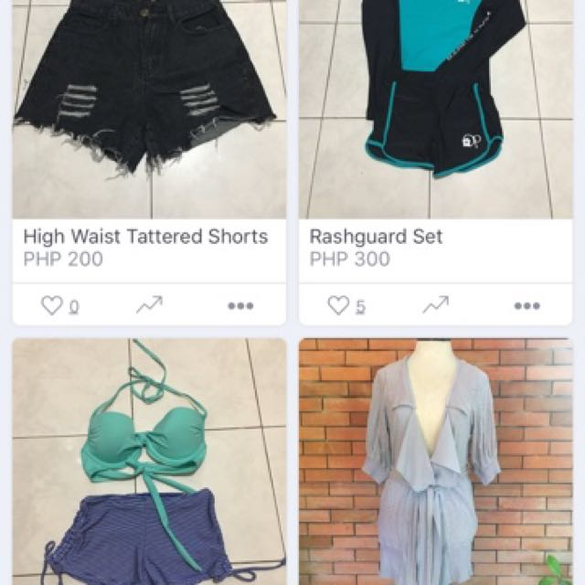 Preloved Items At Affordable Price:)