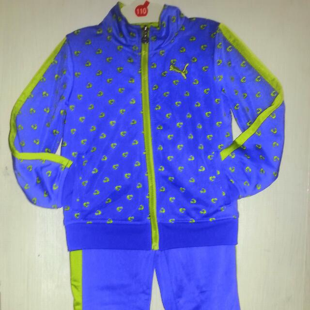 puma girls jumpsuit