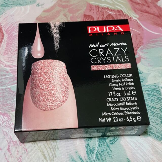 Pupa Milano Nail Art Mania Crazy Crystals #Sti11Avail, Health ...
