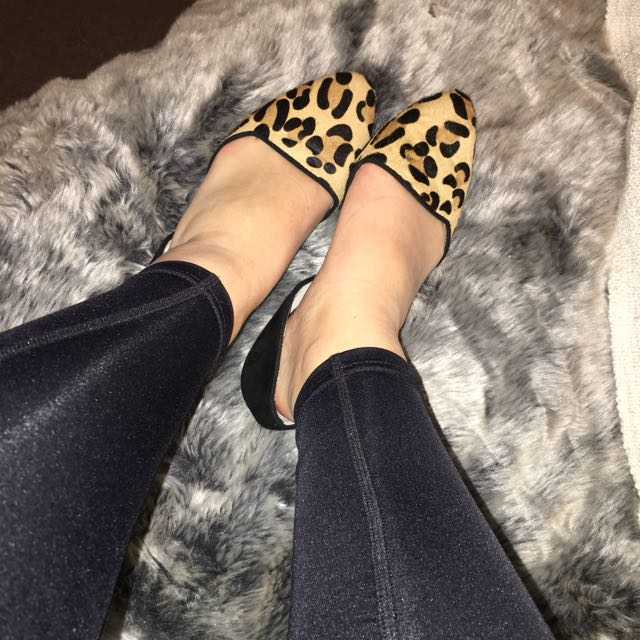 Quality Leopard Pattern Flats
