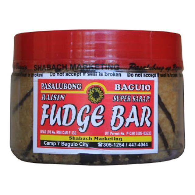 Raisin Fudge Bars