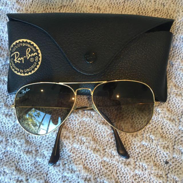 Ray Ban Aviator Large Metal Sunglasses