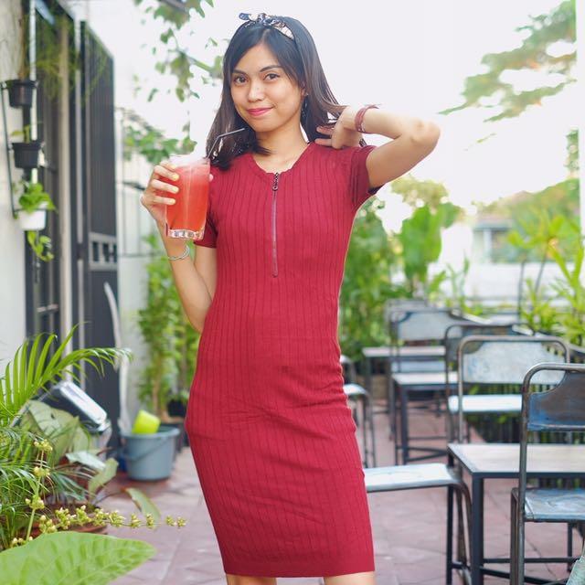 Red Dress Flies