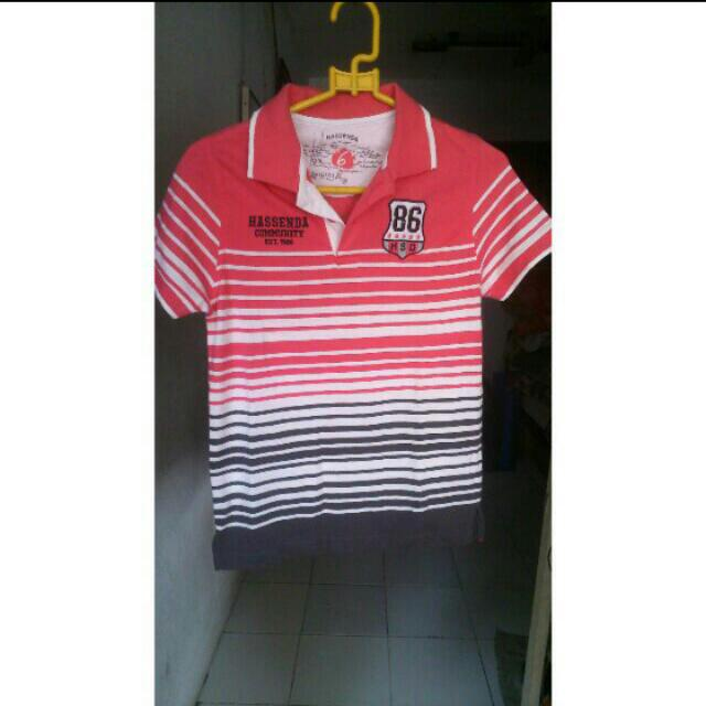 (RE-PRICE) Hassenda Pink Stripe (Very Recommend)
