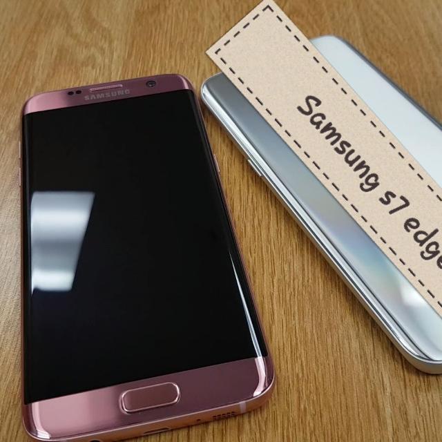 Samsung S7 Edge Pink Gold 32GB