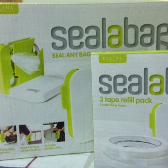 Sealabag Plus 3 Refill New In A Box