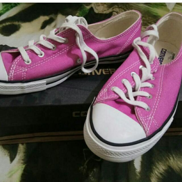#sss Sepatu Converse Pink Ori