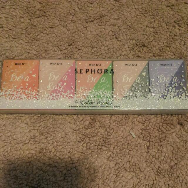 Sephora Color Wishes Eyeshadow Palettes