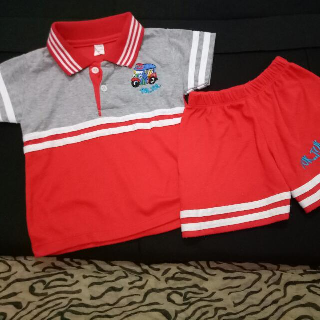 Polo Shirt with Shorts