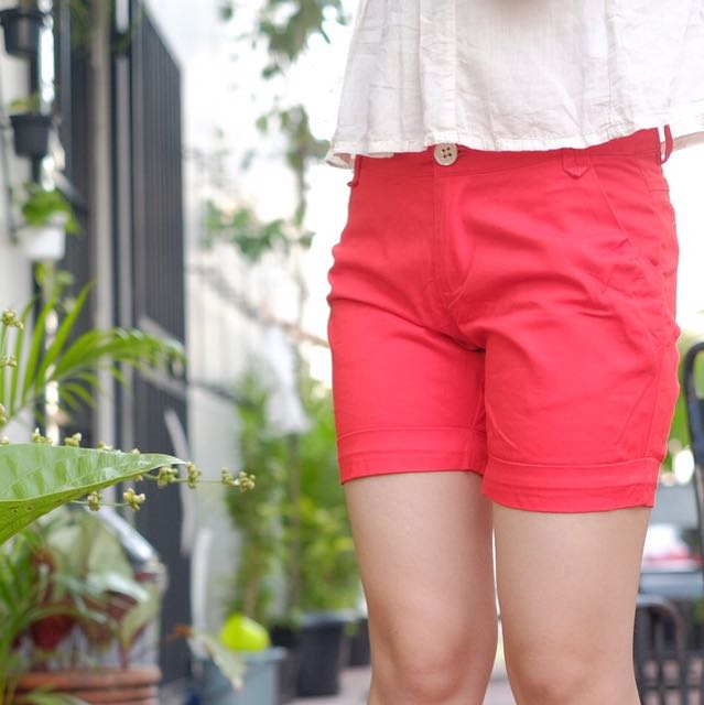 Short Pants Red