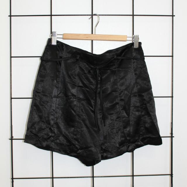Silk Look Shorts