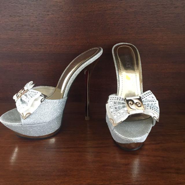 Silver Stiletto