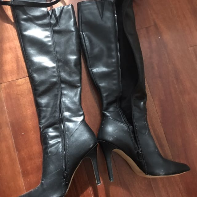 Size 8.5 Knee-high Boots
